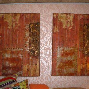 Bewerkte houten panelen