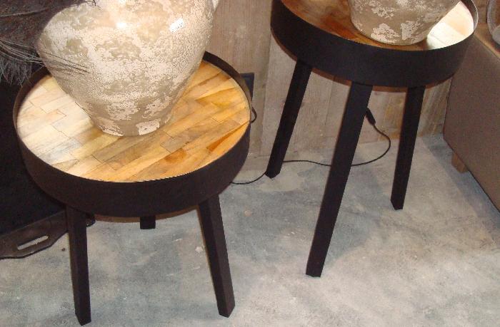 By boo side table tripod high bijzettafel tafel m m metamorphosis