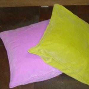Kussen fluweel/groen