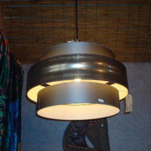Brons gekleurde lampenkappen