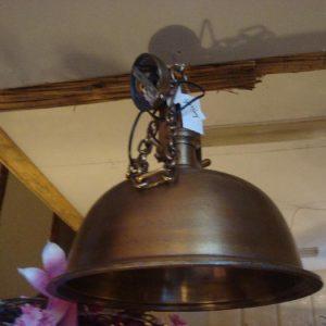 Ruw antiek bronzen hanglamp