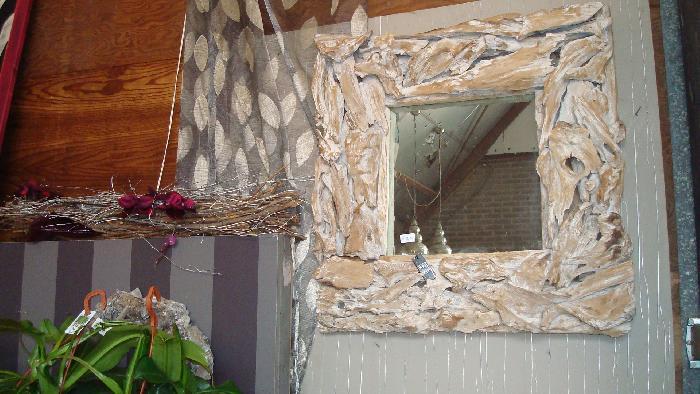 White Wash Spiegel : Extreme wood whitewash spiegel m.m. metamorphosis