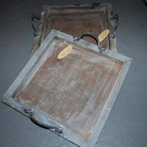 Dienblad 43 x 43 cm