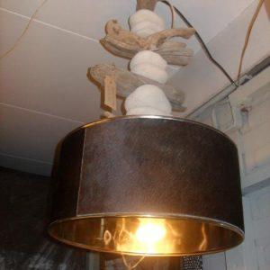 Dierenhuid lampenkap