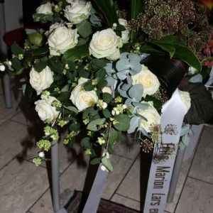 Rouw arrangement
