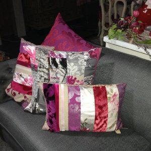 Kussens in paars/roze tinten