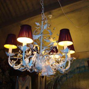 Witte hanglamp
