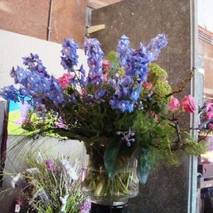 Bruidswerk bloemstuk