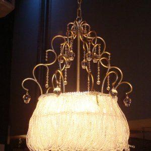 Schitterende hanglamp met kristal