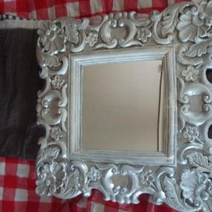 vierkante barok spiegel
