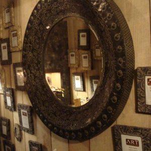 Grote ronde spiegel (art sensation)