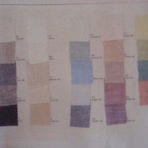 Stof kleuren