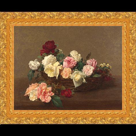 Mand met rozen