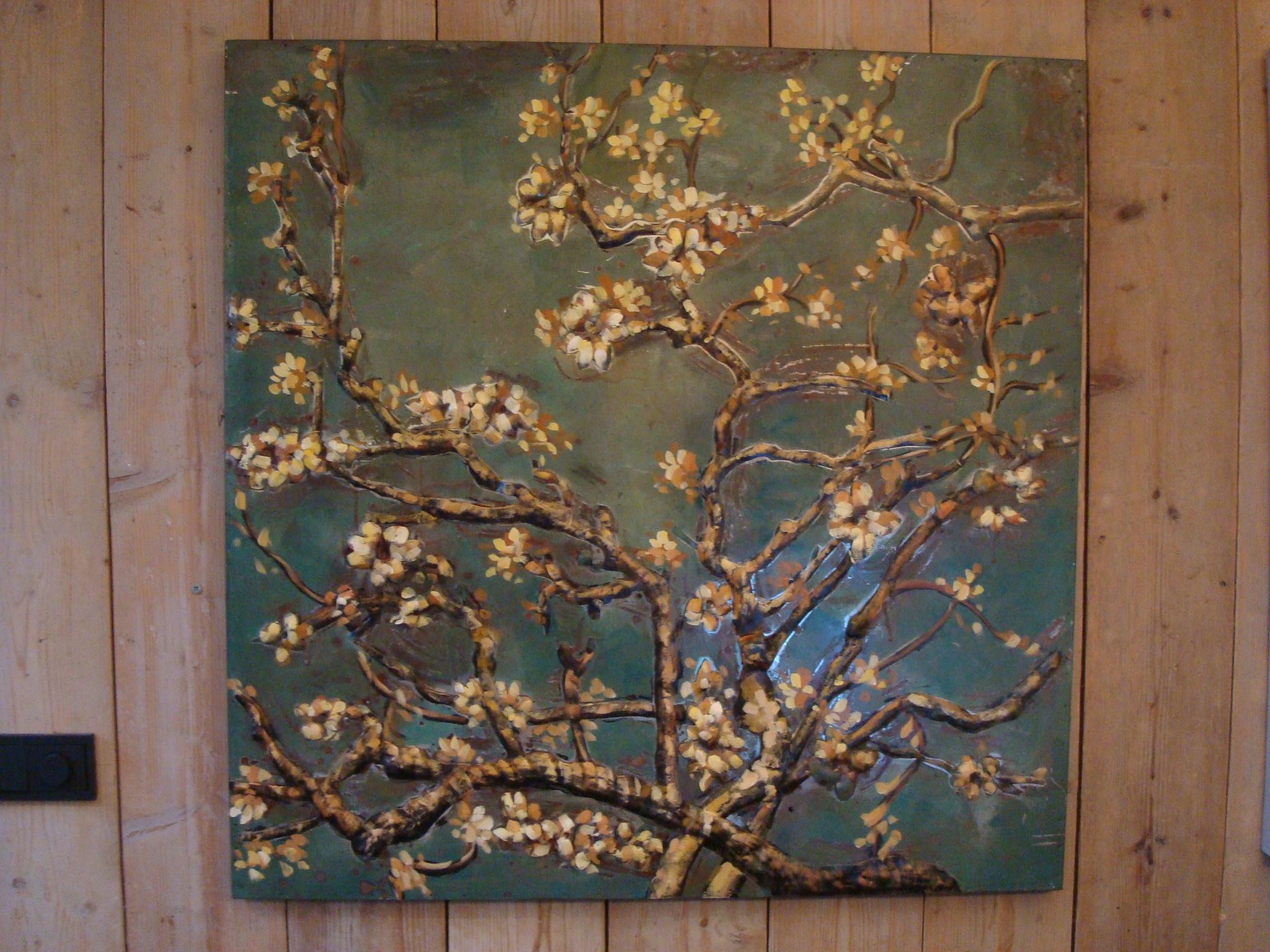 3d Schilderij Metaal.Metalen 3d Schilderij Bloemen