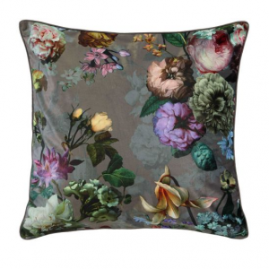 Essenza, fleur cushion square taupe