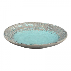 PTMD-Pot en Mand, Esmay blue ceramic bowl round