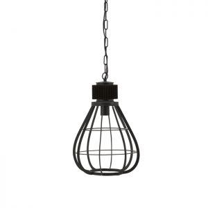 zwart ijzeren lamp